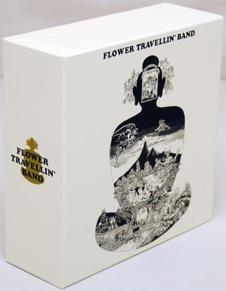 Front Lateral View, Flower Travellin' Band - Satori Box