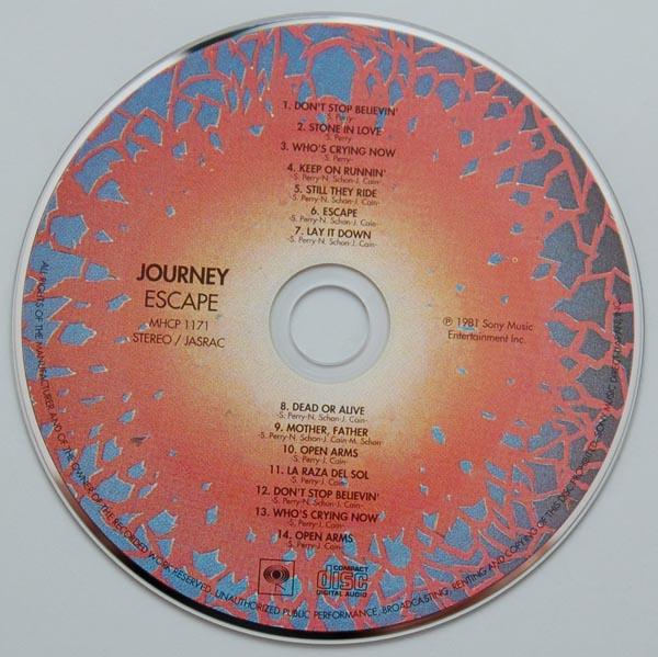 CD, Journey - Escape