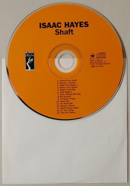 CD, Hayes, Isaac - Shaft
