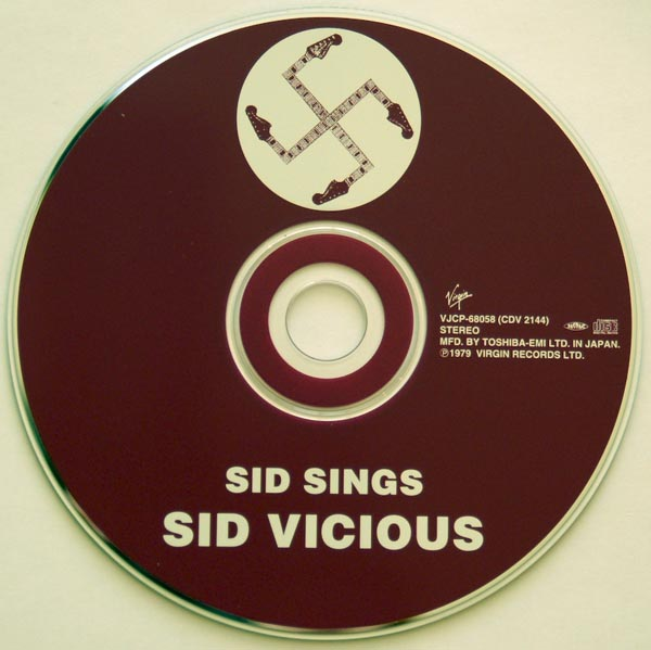 CD, Vicious, Sid - Sid Sings