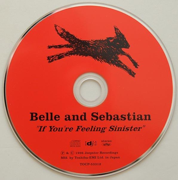 CD, Belle + Sebastian - If You're Feeling Sinister