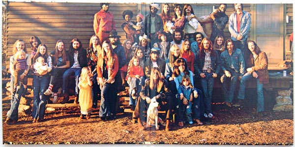 Gatefold open, Allman Brothers Band (The) - Brothers and Sisters