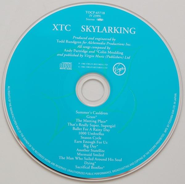 CD, XTC - Skylarking