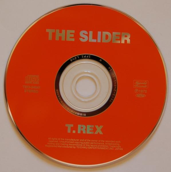 CD, T Rex (Tyrannosaurus Rex) - The Slider