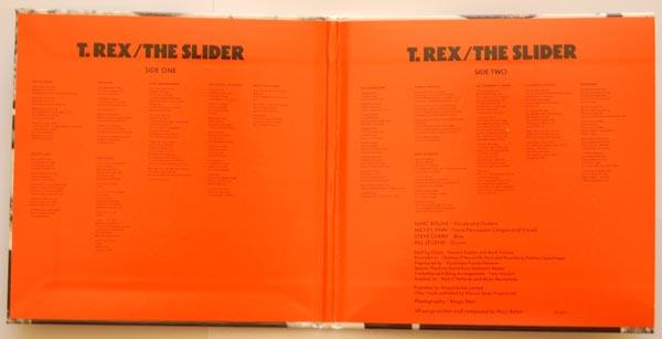 Gatefold open, T Rex (Tyrannosaurus Rex) - The Slider