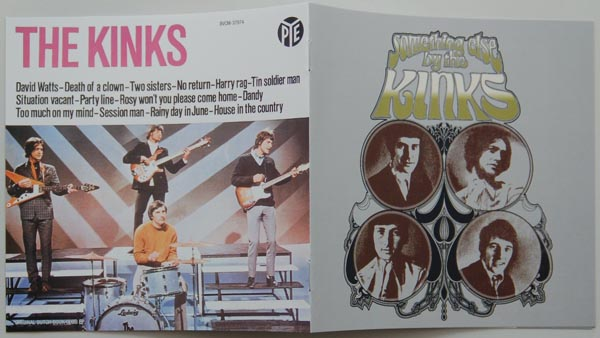 Booklet, Kinks (The) - Something Else