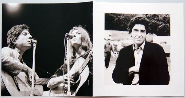 Booklet first & last pages, Cohen, Leonard - Songs From A Room +2