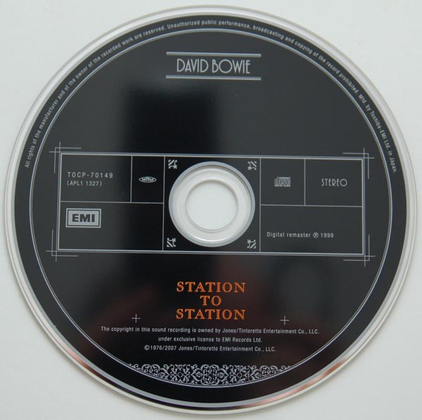 CD, Bowie, David - Station To Station