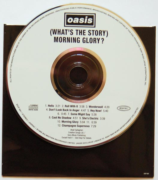 CD, Oasis - (What's the Story) Morning Glory