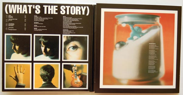 Gatefold half open, Oasis - (What's the Story) Morning Glory