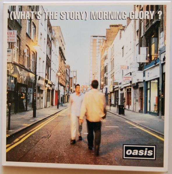 Front cover, Oasis - (What's the Story) Morning Glory