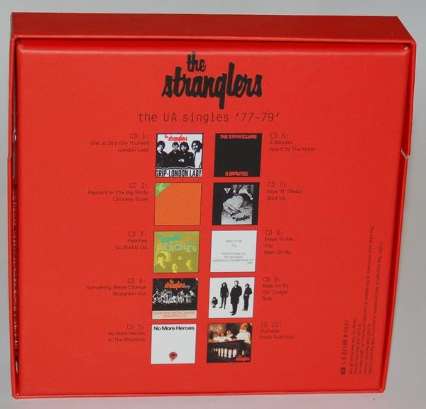 Back view, Stranglers (The) - The UA Singles '77-'79