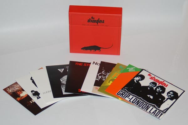 All the box contents, Stranglers (The) - The UA Singles '77-'79