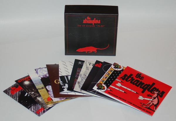 All the box contents, Stranglers (The) - The UA Singles '79-'82
