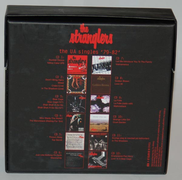 Back view, Stranglers (The) - The UA Singles '79-'82