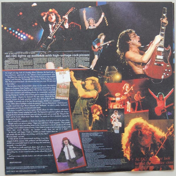 Inner sleeve side B, AC/DC - Flick Of The Switch