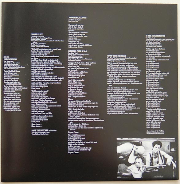 Inner sleeve side A, Waits, Tom - Swordfishtrombones