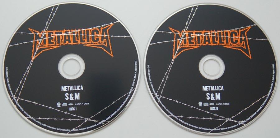 CDs, Metallica - S&M