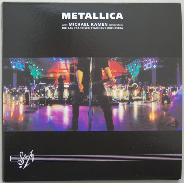 Front Cover, Metallica - S&M