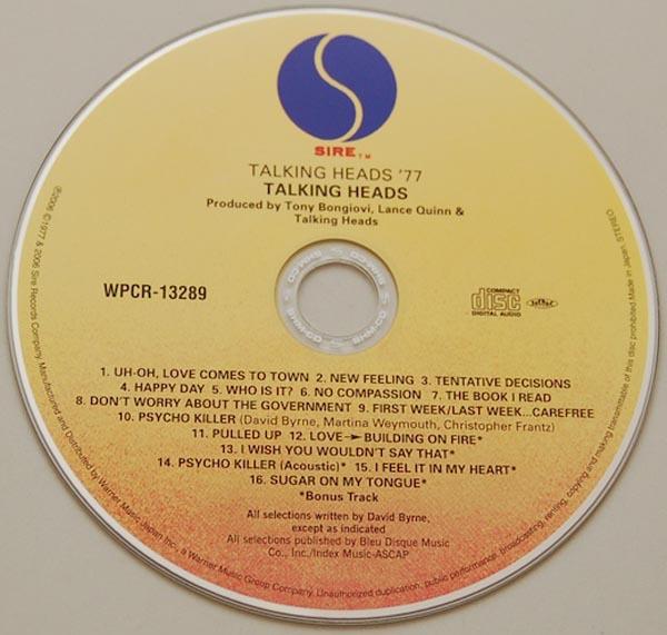 CD, Talking Heads - Talking Heads: 77 + 5