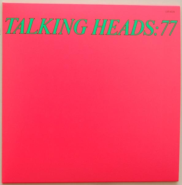 Front Cover, Talking Heads - Talking Heads: 77 + 5