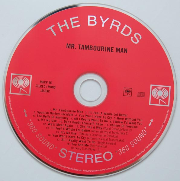 CD, Byrds (The) - Mr Tambourine Man +6
