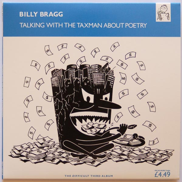 Front Cover, Billy Bragg - Talking With The Taxman About Poetry
