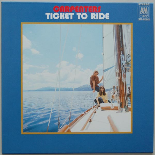 Front Cover, Carpenters - Ticket to Ride