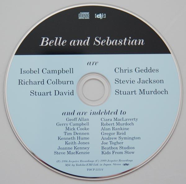 CD, Belle + Sebastian - Tigermilk