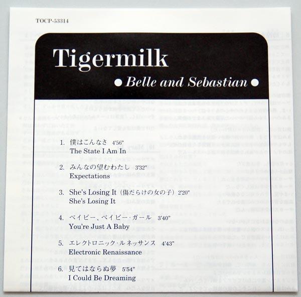 Lyric Book, Belle + Sebastian - Tigermilk
