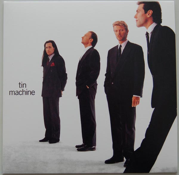 Front Cover, Tin Machine (Bowie, David) - Tin Machine