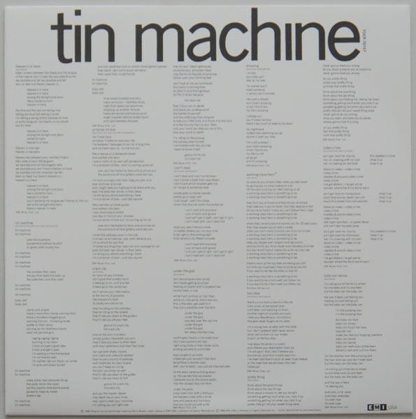 Insert, Tin Machine (Bowie, David) - Tin Machine
