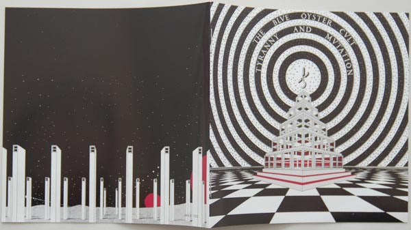 Booklet, Blue Oyster Cult - Tyranny + Mutation