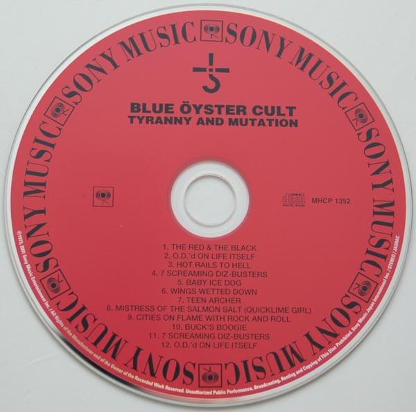 CD, Blue Oyster Cult - Tyranny + Mutation