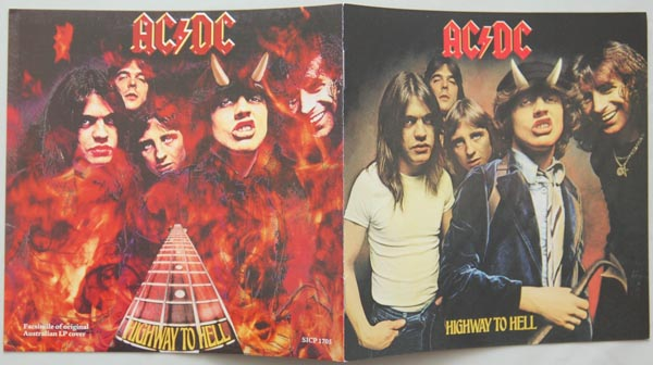 Booklet, AC/DC - Highway To Hell