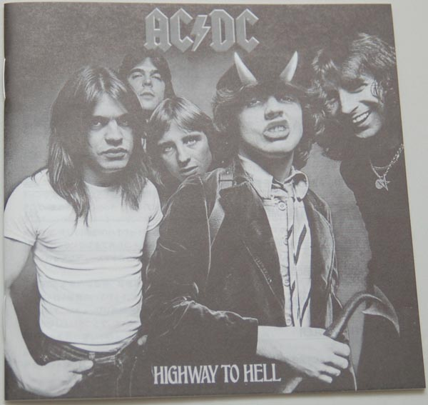 Lyric book, AC/DC - Highway To Hell