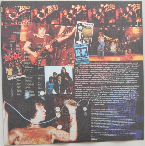 Inner sleeve side B, AC/DC - Highway To Hell