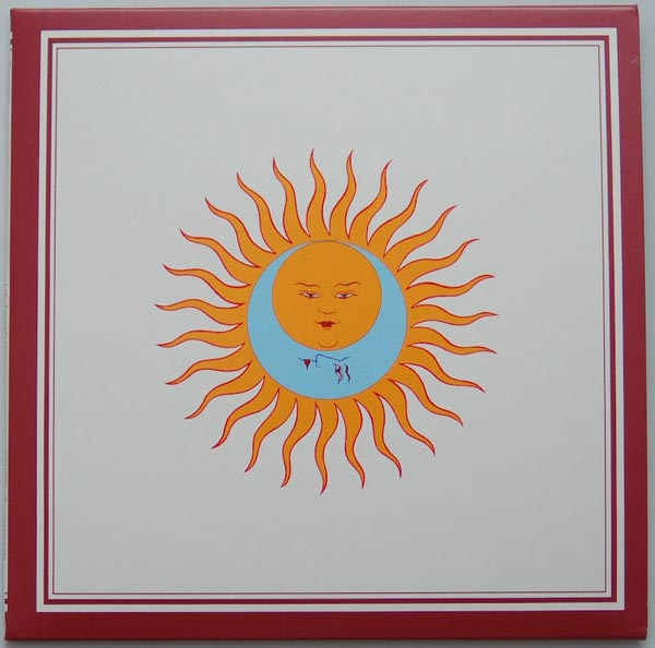 Front cover, King Crimson - Larks' Tongues In Aspic
