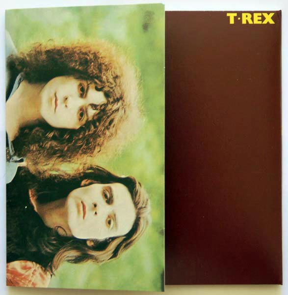 Front cover rotated, T Rex (Tyrannosaurus Rex) - T Rex +9