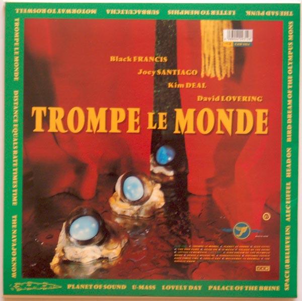 Back cover, Pixies - Trompe Le Monde