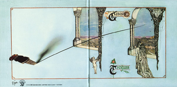 Outside gatefold, Genesis - Trespass