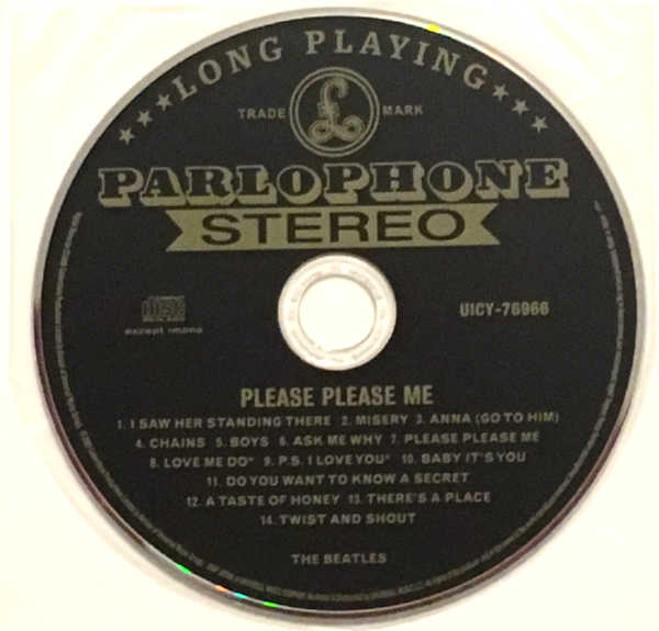 CD, Beatles (The) - Please Please Me [Encore Pressing]