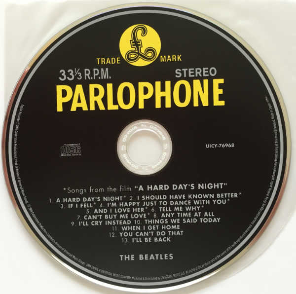 CD, Beatles (The) - A Hard Day's Night [Encore Pressing]