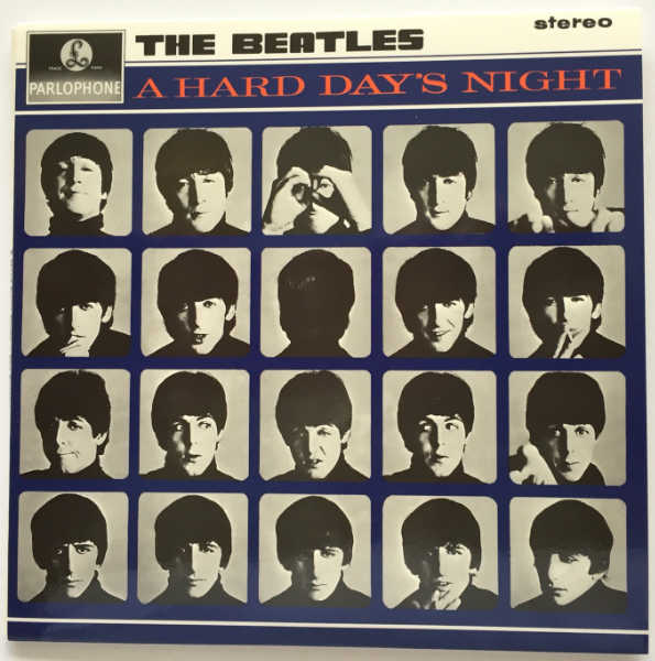 Cover, Beatles (The) - A Hard Day's Night [Encore Pressing]