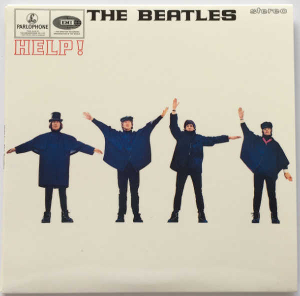 Cover, Beatles (The) - Help! [Encore Pressing]
