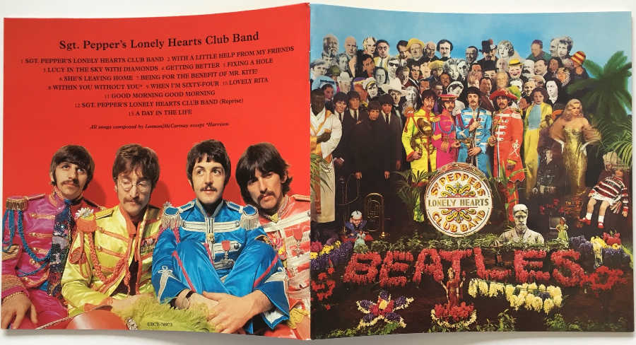 Booklet, Beatles (The) - Sgt. Pepper's Lonely Hearts Club Band [Encore Pressing]