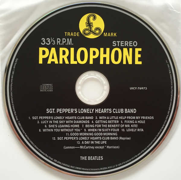 CD, Beatles (The) - Sgt. Pepper's Lonely Hearts Club Band [Encore Pressing]