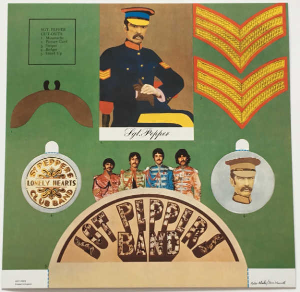 Card, Beatles (The) - Sgt. Pepper's Lonely Hearts Club Band [Encore Pressing]