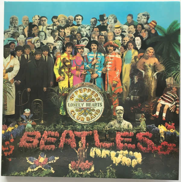 Cover, Beatles (The) - Sgt. Pepper's Lonely Hearts Club Band [Encore Pressing]