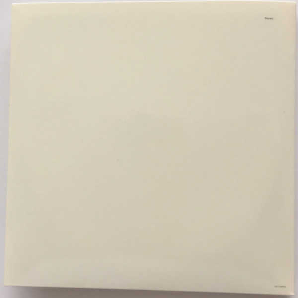 Back Cover, Beatles (The) - The Beatles (aka The White Album) [Encore Pressing]